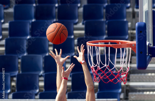 Photo  Baloncesto. Jugada