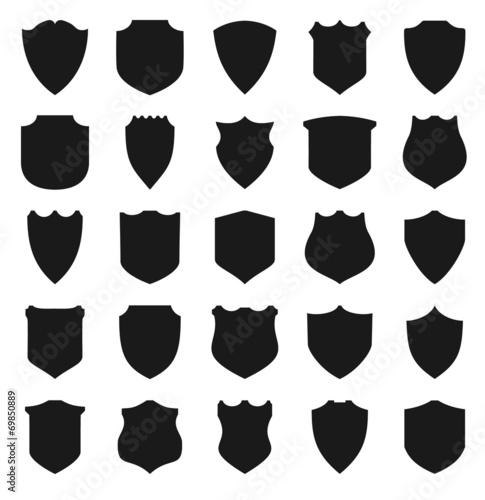 Black Shields. Canvas-taulu
