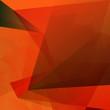 polygonal abstrakt orangetöne