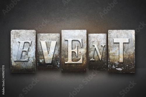 Event Letterpress #69867078
