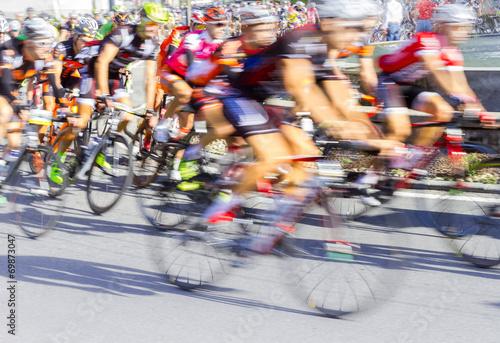 Fotografie, Obraz  Gara ciclistica