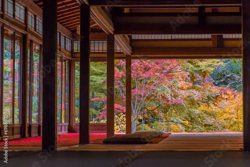 In de dag Kyoto 京都 紅葉