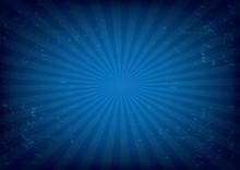 Radial Background Vector Illus...