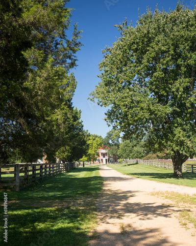 Poster Ville sur l eau Appomattox County Courthouse National Park