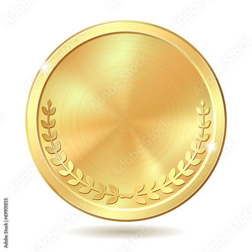 Cuadros en Lienzo golden coin