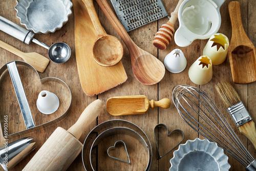 kitchen utensil Wallpaper Mural
