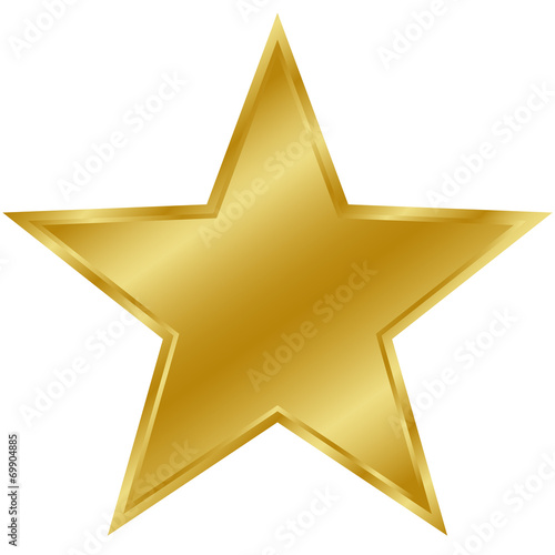 Fotomural Stern gold