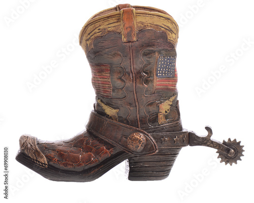 Valokuva  Cowboy Boot with Spurs