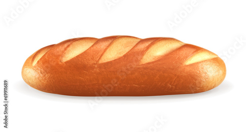 Fotografija Loaf, vector illustration