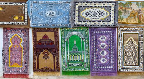 Staande foto Tunesië Tunisia, ethnic carpets