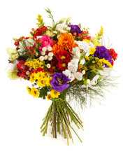 Colorful Flowers Bunch