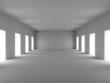 canvas print picture White room