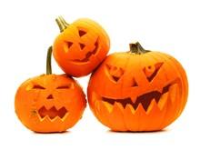 Group Of Varied Halloween Jack...