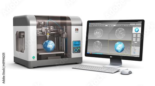 Fotografia  3D printing technology