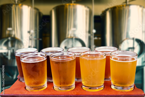 Photo  beer flight