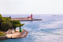 Scorcio Del Porto Di Ischia