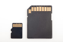 Micro Sd Card And Adapter