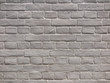 ペンキを塗ったレンガ塀