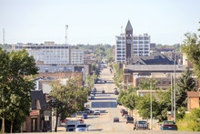 Downtown Of Sioux Fall, South ...