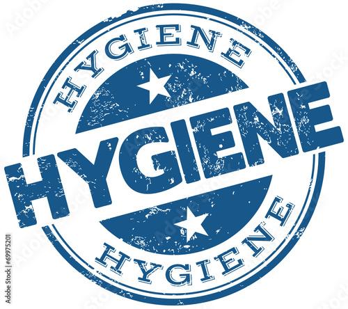 Fotografía  hygiene stamp