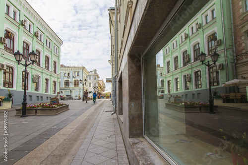 Foto op Plexiglas Caraïben Moscow, Russia. Foot zone in the downtown. Kuznetsky Bridge Stre