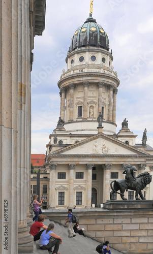 Keuken foto achterwand Berlijn Blick zum Französischen Dom