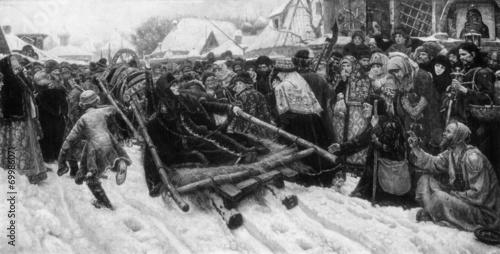 Valokuva  Boyarynya Morozova (Surikov, 1887)