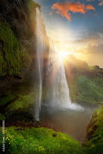 Waterfalls Wall mural
