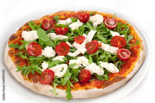 Tuinposter Pizzeria la pizza piccante