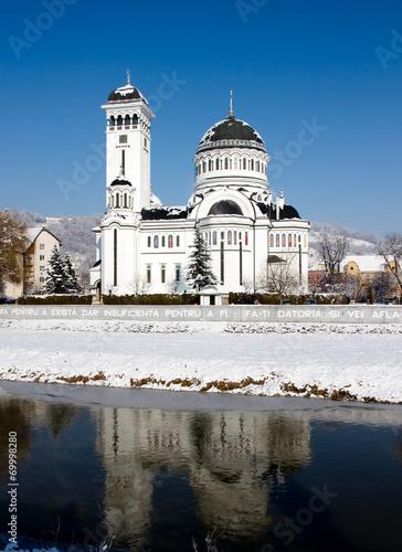 Fotografie, Obraz  Orthodox cathedral in Sighisoara , Romania