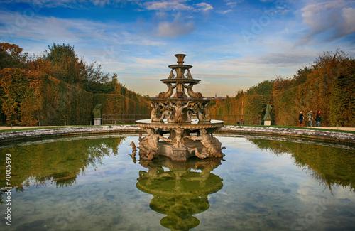 Foto auf Leinwand Fontane Fontaine jardin du château de Versailles
