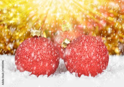Poster Eclaboussures d eau Christmas decorations