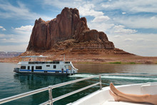 Cruising On Lake Powell Arizona