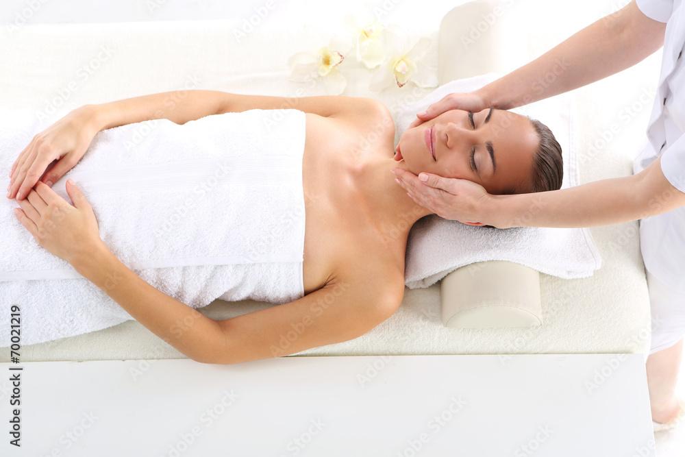 Fototapeta Relaks w spa relaksacyjny masaż