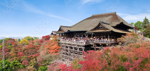Poster Kyoto Stitched Panorama