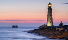 Ship Rack And Lighthouse