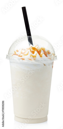 Photo sur Toile Lait, Milk-shake Vanilla milkshake