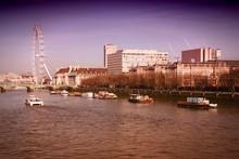 London, England. Cross Process...