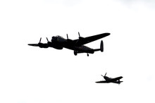 Spitfire And B-17