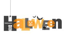 HALLOWEEN Letter Collage (pump...