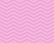 Pink Chevron Zigzag Textured Fabric Pattern Background