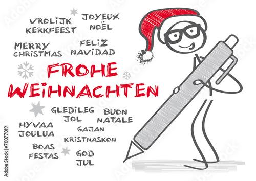 Frohe Weihnachten In Vielen Sprachen.Frohe Weihnachten In Mehreren Sprachen Buy This Stock