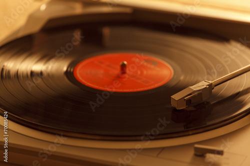 Fotografía  レコードとレコードプレーヤー