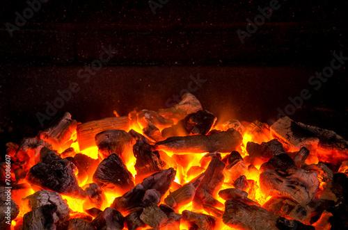 Fotografie, Obraz  Live Coals