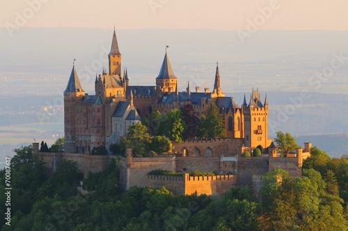 Hohenzollern Castle (Germany) sunrise #70087617