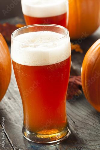 Photo  Frothy Orange Pumpkin Ale