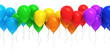 canvas print picture - Colorful balloons
