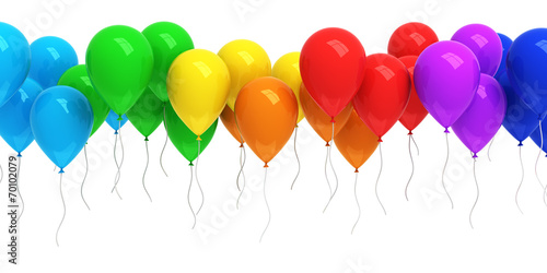 Photo  Colorful balloons