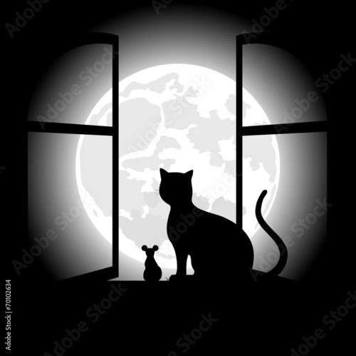 czarny-kot-siedzacy-naprzeciwko-ksiezyca-w-noc-halloween