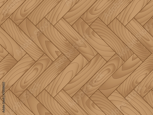Obraz Wooden parquet floor with natural patterns - fototapety do salonu